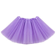 Fashion Sweet Girls Skirt Net Yarn Mini Tutu Skirt Dance Wear Princess Ball Gown Skirt 7 Colors(China)