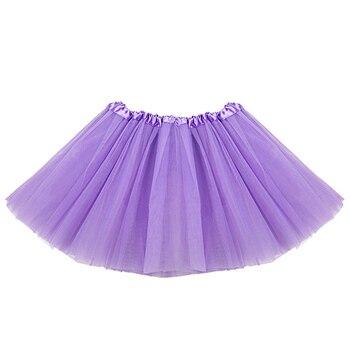 Fashion Sweet Girls Skirt Net Yarn Mini Tutu Skirt Dance Wear Princess Ball Gown Skirt 7 Colors