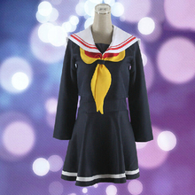 Sailor Style font b Women b font Skirts NO GAME NO LIFE font b Cosplay b