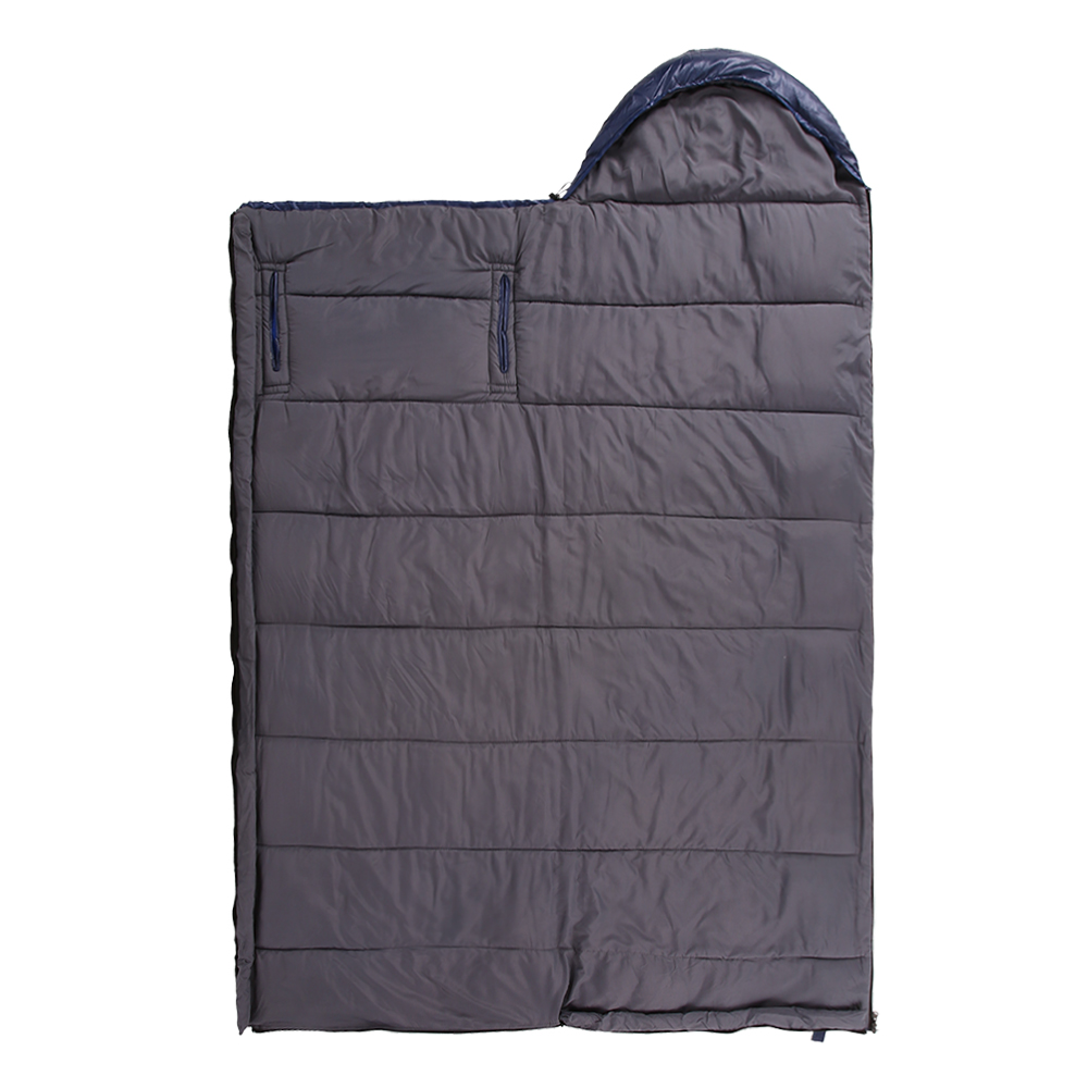 Winter Warm Outdoor Camping Sleeping Bag Thickened Cotton Sleeping Bag Travel Hiking Split Joint Sleeping Bag