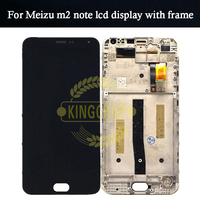 AAA Quality LCD Frame For MEIZU M1 NOTE Lcd Display Screen Replacement For MEIZU M1 NOTE