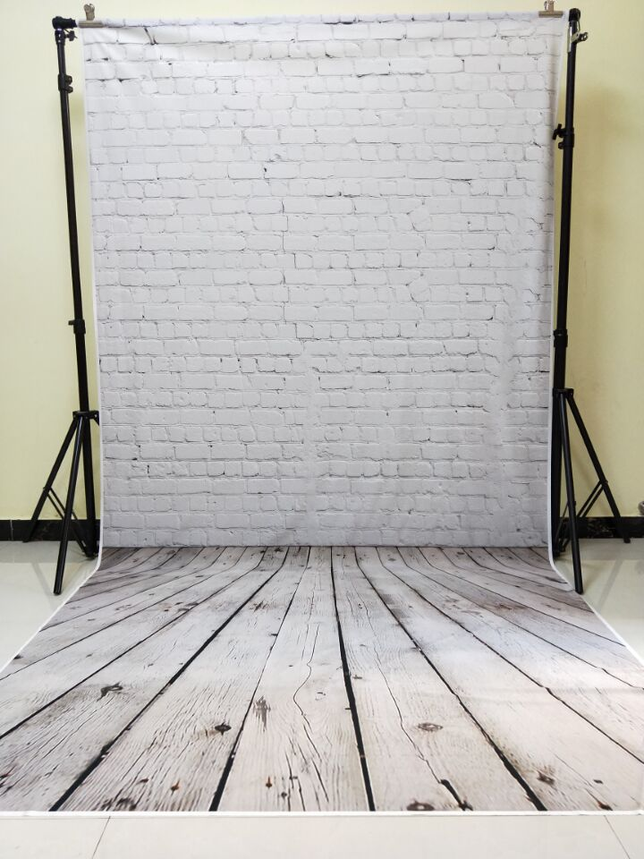 HUAYI 5x10ft Cotton Polyester Brick Wall Photography Backdrop Washable Photo Studios Baby Props Background KP-303 huayi 10x20ft wood letter wall backdrop wood floor vinyl wedding photography backdrops photo props background woods xt 6396