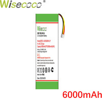 Wisecoco AEC982999 2P 6000mAh New Battery For J BL Charge High Quality battery