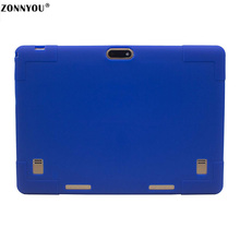 10.1-Tablet PC Android 7.0 3G Phone Call Octa -Core 1.5GHz 4GB+32GB Built-in 3G BluetootH Wi-fi GPS Rubber CaseTablet PC blue