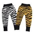 Confortável Malhas Bonito Tiger Stripes Calças Do Menino Da Criança Do Bebê Calças Menina Leggings Roupas YM08KZ