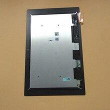 Для sony Tablet Z2 Xperia SGP511 SGP512 SGP521 SGP541 черный Сенсорный экран планшета Панель + ЖК-дисплей Дисплей Панель монитора в сборе