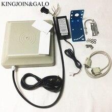 통합 장거리 UHF RFID 카드 판독기 0  6m 감지기 거리 8dbi 안테나 RS232/RS485/Wiegand 인터페이스 옵션
