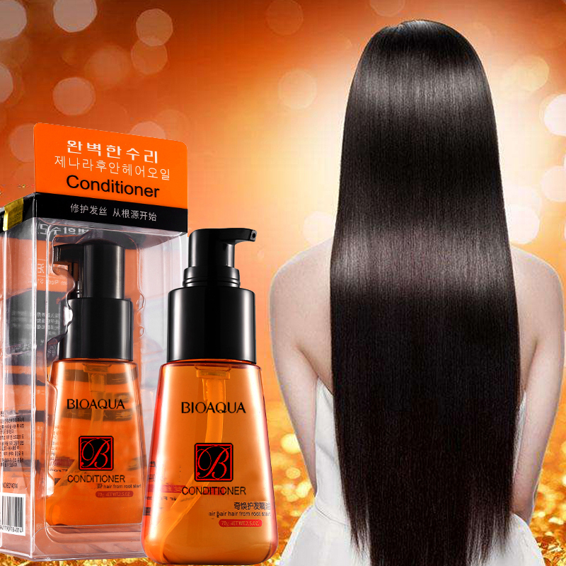 BIOAQUA 70ml Hair Keratin Moroccan Pure Argan Oil Hair Essential Oil For Frizzy Dry Repair Hair Care Hair Scalp TreatmentsBIOAQUA 70ml Hair Keratin Moroccan Pure Argan Oil Hair Essential Oil For Frizzy Dry Repair Hair Care Hair Scalp Treatments