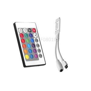 Image 3 - 1 cái DC12V 24key/44 key RGB IR Điều Khiển Từ Xa; 3A/5A Điện cung cấp Adapter Đối Với LED Strip ánh sáng Phụ Kiện SMD 5050 3528