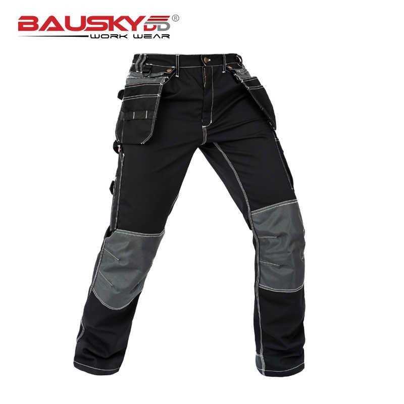 Bauskydd Pantalones De Trabajo Para Hombre Ropa De Trabajo Mecanica Con Multiples Bolsillos Ropa De Trabajo Envio Gratis Pantalones Informales Aliexpress