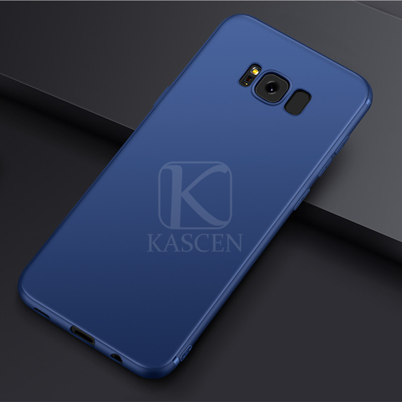 KASCEN Cases For Samsung Galaxy S8 Plus Ultra thin Silicone Soft Phone Cover For Samsung Galaxy S8 Shockproof Protective Shell in Fitted Cases from Cellphones Telecommunications