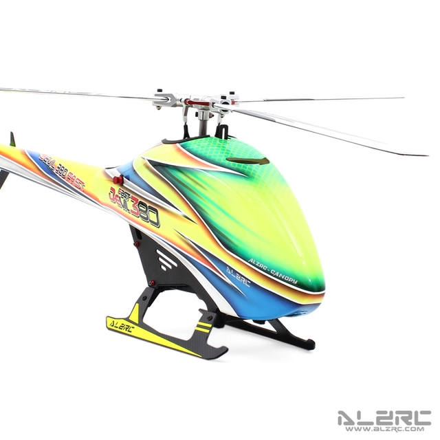US $439 6 |ALZRC Devil 380 FAST TBR Combo RC Helicopter KIT Aircraft RC  Electric Helicopter 380 Frame kit Power driven Helicopter 3 blades-in RC