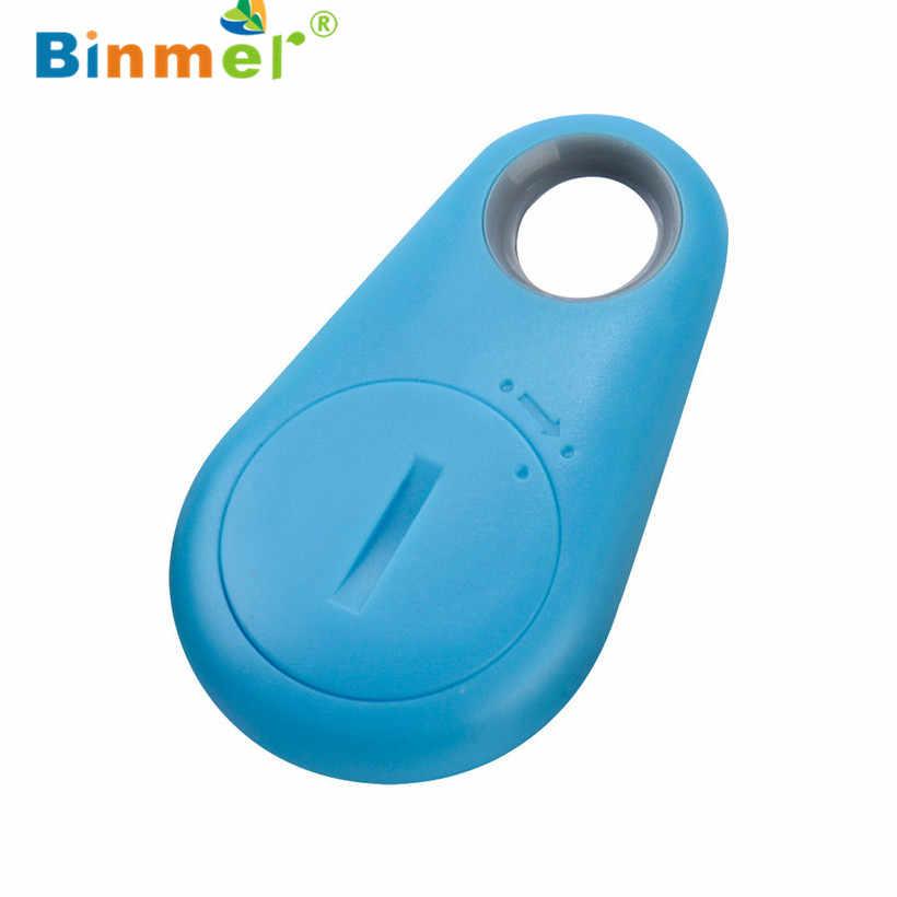 Hot Jual Anti-Kehilangan Pencurian Perangkat Alarm Bluetooth Remote GPS Tracker Anak PET Tas Dompet Kunci Finder Telepon mobil. 90703