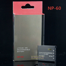 NP-60 NP60 CNP-60 Rechargeable Camera Battery For Casio EX-S10 EX-S12 EX-Z80 EX-Z20 EX-Z29 EX-Z9SR Camera