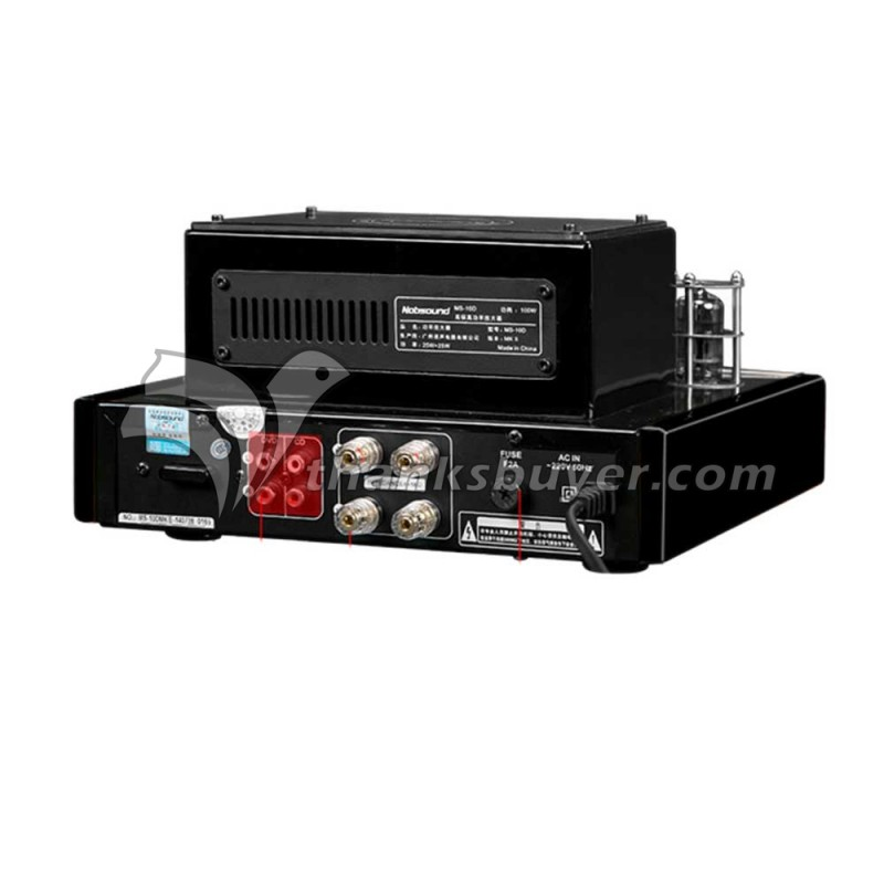 Nobsound MS-10D MKII Hifi 2.0 Tube Amplifier USB/Bluetooth Amplifier Audio Amplifier 25W*2 TOP радиоприемник 25 hifi 25w