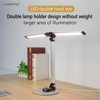 LAOPAO 10W Led Fashion Desk Lamp With Dual lamp RA>95 56Bulb Stepless Dimming Eye Protect Touch Control Folding Style Table lamp|Desk Lamps| |  -