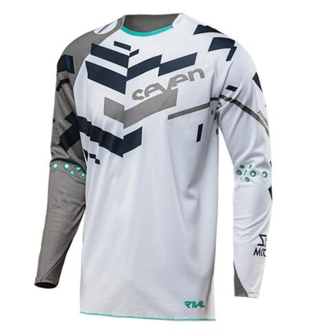 Jersey Moto-Cross Rcycle-Ciclismo MTB Camiseta Mx-De-Bicicleta-De-Carretera Abajo Siete