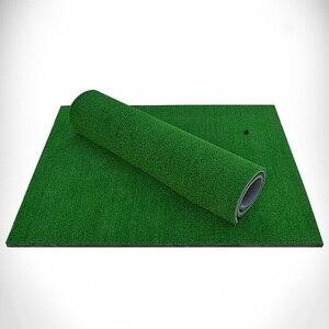 Image 2 - 뒷마당 골프 매트 골프 훈련 에이즈 야외/실내 타격 패드 연습 잔디 매트 게임 골프 훈련 매트 Grassroots 60x30cm