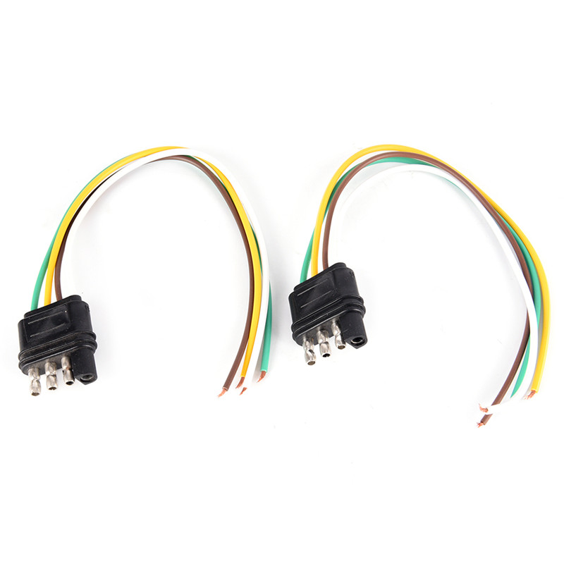 US $2.41 17% OFF|1Pcs Trailer Light Wiring Harness Extension 4 Pins on
