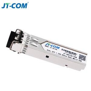 Image 5 - Módulo SFP óptico de 1Gb Gigabit 850nm 550m DDM Duplex multimodo LC Mini Gbic 1,25G Módulo SFP de fibra Módulo Tranceiver Switch SFP compatível Mikrotik Cisco