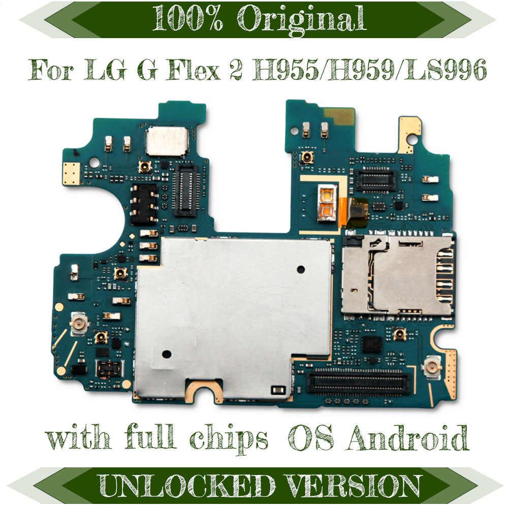 Запасная материнская плата TDHHX для LG G Flex 2 H955/H959/LS996 с системой Android