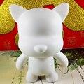 Boa Série Em Branco Munny Kidrobot Vinil Brinquedo Estatueta Colecionável 1/16 Em Branco Engraçado Cão Ou Gato Usar Edu Ensino Aquarela Draeing