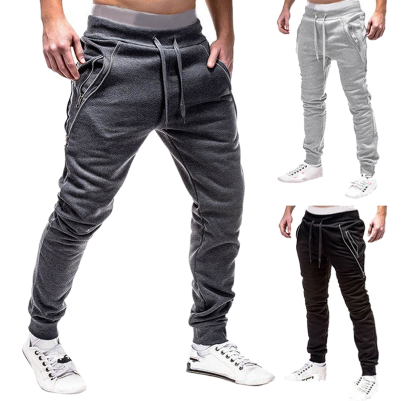 2018 Brand Men Pants Hip Hop Harem Joggers Pants 2018 Male Trousers Mens Joggers Solid Multi-pocket Pants Sweatpants 3XL Loose