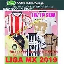 bdfa3e04717 Mexico MX League CHIVAS Guadalajara Club America UNAM TIGRES Monterrey  Cougar Soccer Jerseys 2018 2019 Cuervos