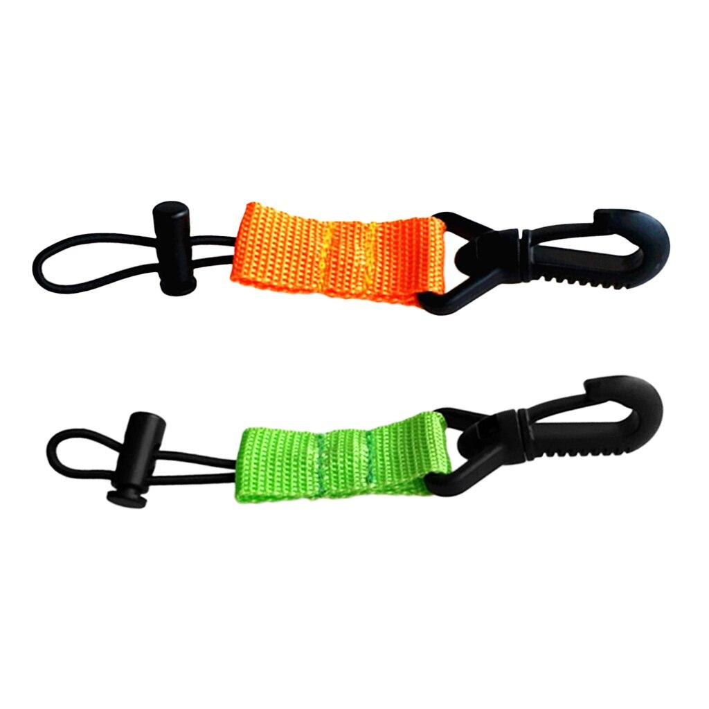 MagiDeal 2 Pieces Scuba Diving Mouthpiece Regulator Holder Green + Orange Scuba Diving Mouthpiece Holder