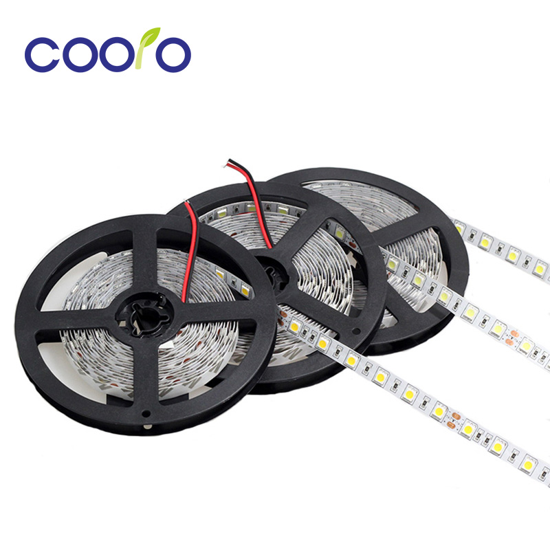 DC24V LED Strip 5050 fiexible light Non-Waterproof 60Led/m,White,Warm white,Red,Green,Blue,Yellow,RGB,Free shipping,5m/lot 20cm free shipping white green red colourful waterproof led floating christmas light ball vc b200