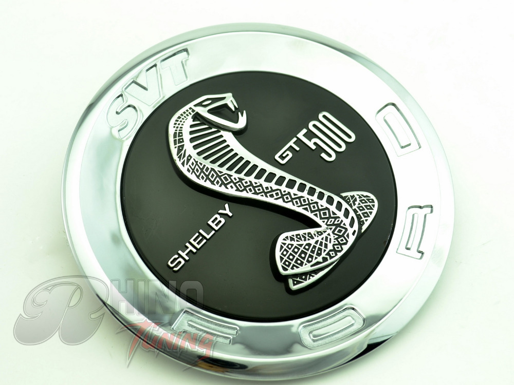 Svt shelby gt500 silver snake logo car emblem decal auto body sticker badge 150mm150mm6mm 634 on aliexpress com alibaba group