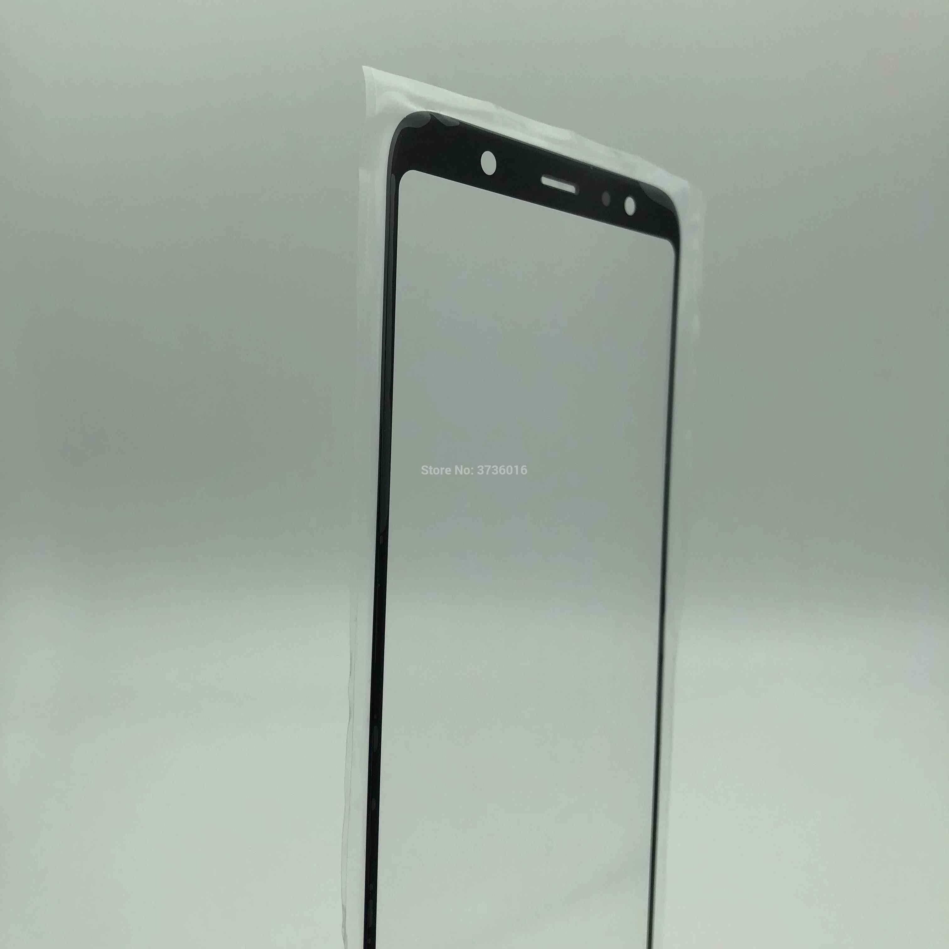 شاشة تعمل باللمس الزجاج الأمامي لوحة ل samsung A605 الكراك زجاج الشاشة استبدال إصلاح مع HD عرض اختبار قبل الشحن