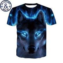 Mens Hipster Wolf T Shirt 2018 Fashion 3D Print Tshirt Men Women Short Sleeve Tee Shirt Homme Hip Hop Casual T-shirt Camisetas men wolf 3d print tee