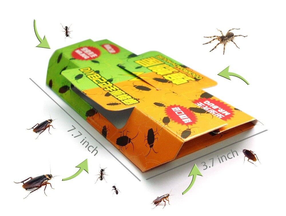 Cockroach Cockroach Piege tueur Bait Colle Autocollant Trapper pour Home Pest Control, sur et non-toxique!