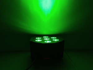 Image 5 - LED 파 스테이지 RGBWA UV rgbw 4in1 5in1 6in1 조명 DJ DMX 7X12W 7x18W 7x15W LED 플랫 SlimPar 쿼드 라이트 No Noise