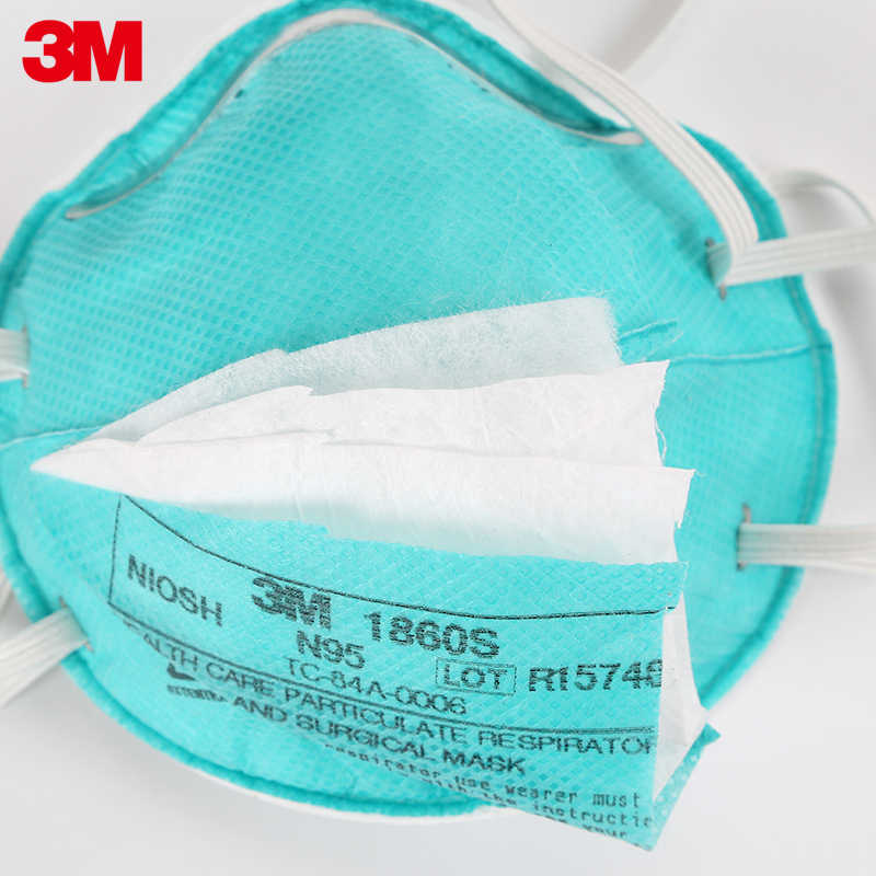 Respirator Care N95 Children For Mask Health Anti-virus Adult Safety Dustproof 3m Masks Particulate 1860s 1860 Dust Breathing