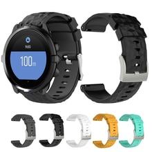 Sport Silicone Strap For Suunto Spartan Sport Wrist HR Baro Replacement Band Rubber Wrist Strap for Suunto 9 Baro Smart Watch
