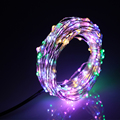 20Ft 6M Led String Lights 120LED Silver Wire Starry String Lights For Holiday Christmas Weddings Parties Decoration Lamp
