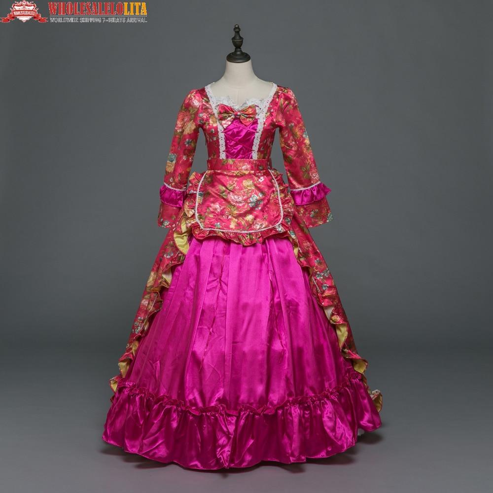 Nuevo Día Marie Antonieta ropa gótico medieval vestido victoriano ...