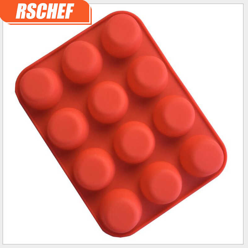 1 шт Многоцветный силиконовая форма для печенья, маффинов стаканчик пористый для пудинга и желе формы DIY Инструменты для выпечки разноцветные инструменты