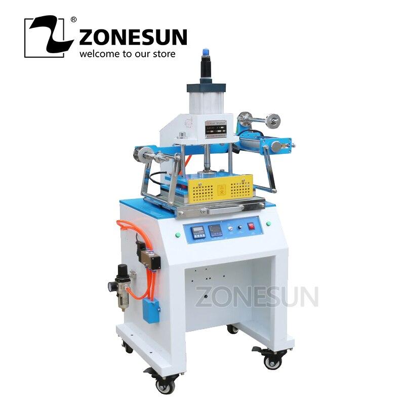 ZONESUN ZY 819D 2030 см пневматическая штамповочная машина бумажный кожаный деревяный гребень для волос карточка сминающая давление Начальная маши