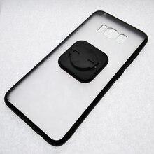 Funda de teléfono móvil rígida transparente de TPU para PC con adaptador Universal para Galaxy S8/S9 Plus, para SRAM, GARMIN, FOURIERS, BRYTON, GUB