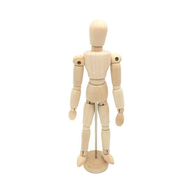 5,5 Zoll Holz Menschlichen Körper Gelenk Beweglichen Puppe Künstler ...