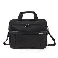 Unisex Briefcase 14 inch Laptop Bag For Business Men Office Lady Casual Man Bag Shoulder bags Waterproof Black Bag