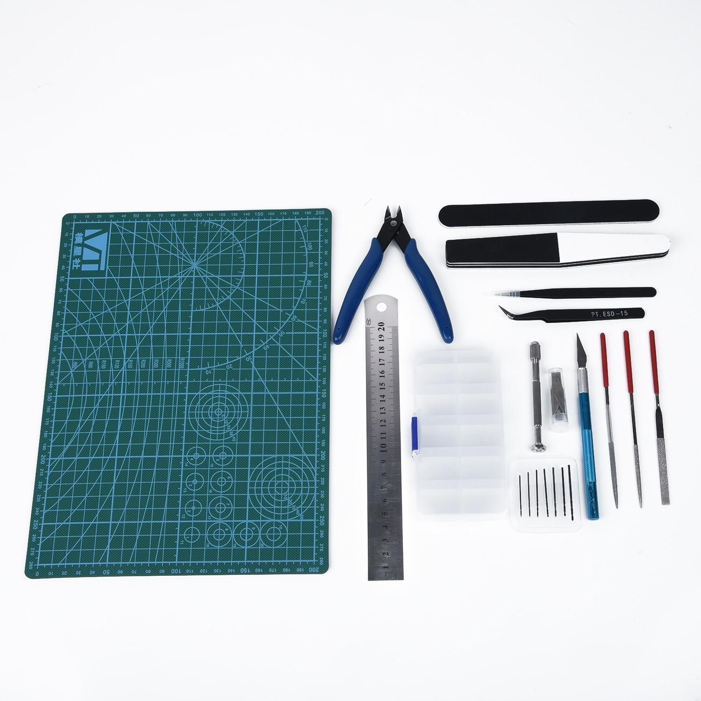 Basic Tools Modeler Tools Building Kit For Grinding Craft Gundam Gift Decoration Making Model Storage Box Craft