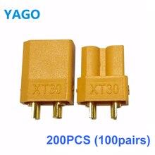 200 Pcs XT30 XT60 XT90 Male Female Bullet Connector Update Plug For font b Battery b