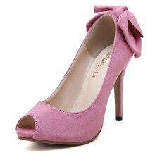 ยี่ห้อออกแบบใหม่ผู้หญิงปั๊มเซ็กซี่เปิดนิ้วเท้าส้นสูงหนาตื้นปากผู้หญิงรองเท้าพรรคคุณภาพดีชุดปั๊ม