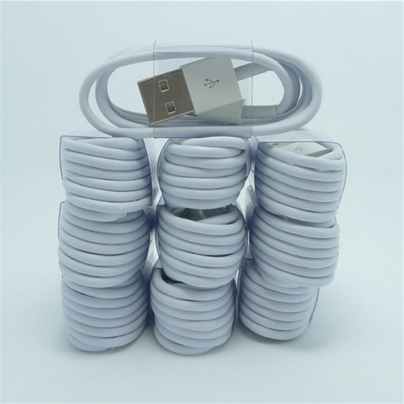 10 pcs/lot High Quality 8Pin USB Data Sync Charging Cable Cord for Apple iPhone 6 6s plus 5 5s 5G iPod Touch Work with iOS 9.3