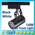 X10 DHL CE ROHS UL levou faixa de luz 14 W 120 ângulo de feixe Led teto Spotlight Downlight AC 85 - 265 V Led spot iluminação frete grátis