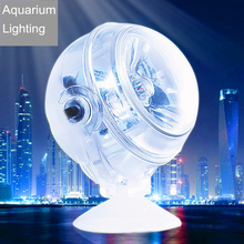 Underwater 1W Led Aquarium Light Waterproof Led Lamp For Coral Reef Fish Tank Submersible Colorful Spot Lamp Suction Cup AL001